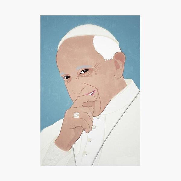 Pope Francis Photographic Print