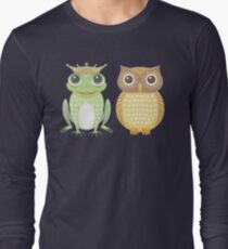 Frog & Owl Long Sleeve T-Shirt