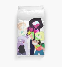 We Are The Crystal Gems!  Duvet Cover