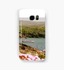 Malinmore Pier, Glencolmcille, Co. Donegal  Samsung Galaxy Case/Skin