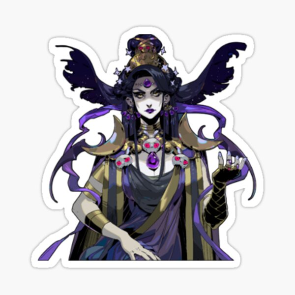 Nyx Hades Game Sprite Sticker