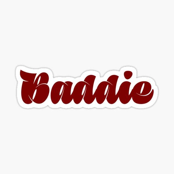 Instagram Baddie Stickers Redbubble