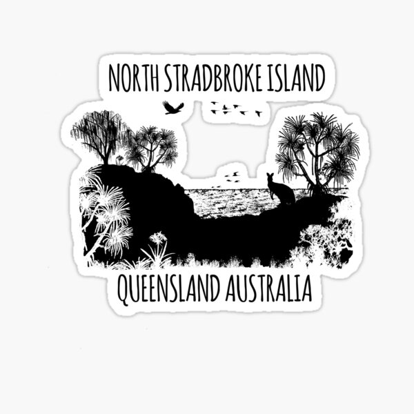 MOOLOOMBAH, MINJERRIBAH - (AKA POINT LOOKOUT NORTH STRADBROKE ISLAND) AUSTRALIA Sticker
