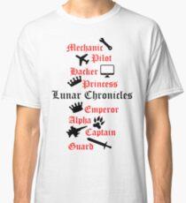 Lunar Chronicle characters Classic T-Shirt