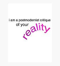 postmodernism Photographic Print