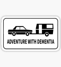 ADVENTURE WITH DEMENTIA Sticker
