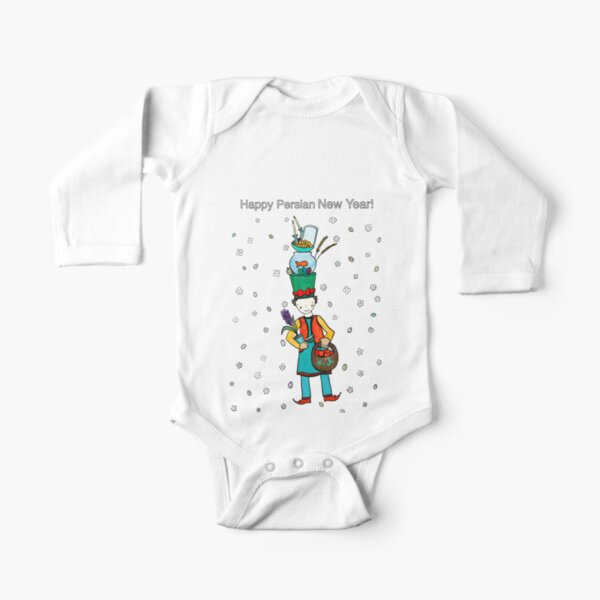 Norooz  Long Sleeve Baby One-Piece