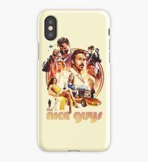 the nice guys iPhone Case/Skin