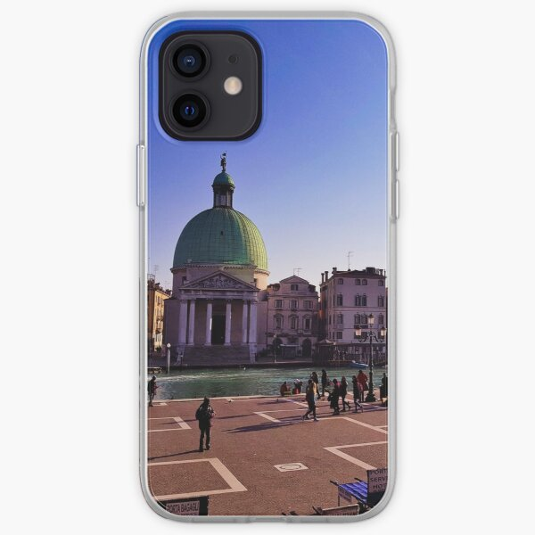 First portrait of Venice iPhone Soft Case