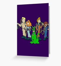 The Real Scooby Busters! Greeting Card