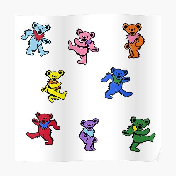 Mini Dancing Bears Poster