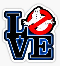 Love Park Ghostbusters Sticker
