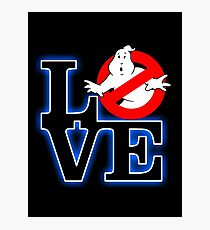 Love Park Ghostbusters Photographic Print