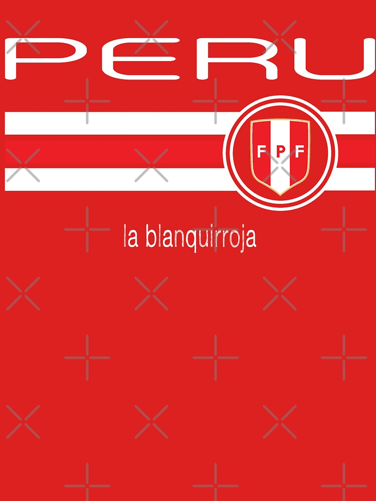 Football - Peru (Home Red) by madeofthoughts