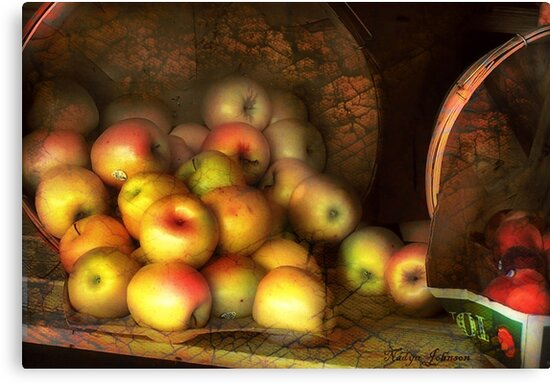 The Fruit Stand by Nadya Johnson