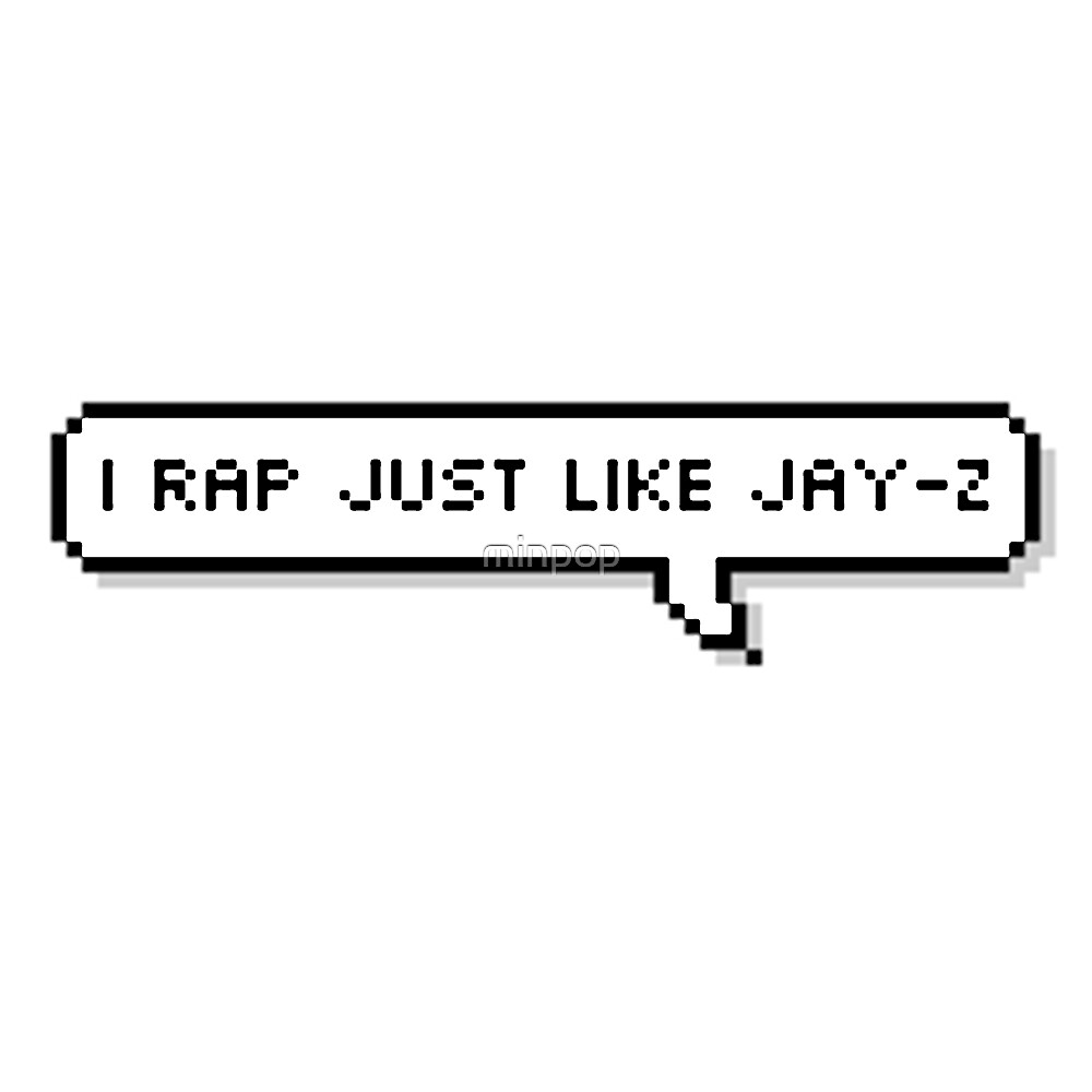 Quot Bts Jin Quot I Rap Just Like Jay Z Quot Quot By Minpop Redbubble