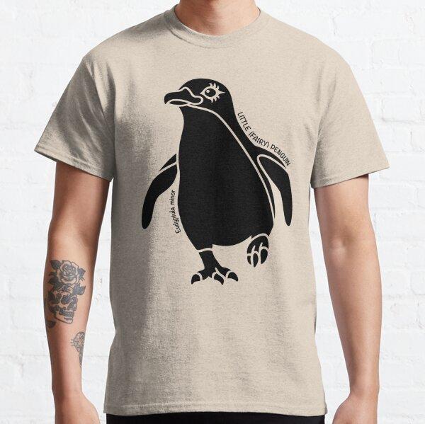 Little (Fairy) Penguin. Iconic Australian Animal. Silhouette. Classic T-Shirt