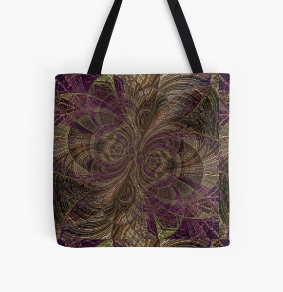Truly Natural All Over Print Tote Bag