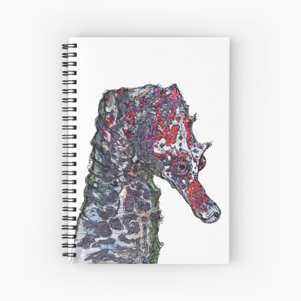 Lady Jayne Seahorse of Manly Nets Spiral Notebook