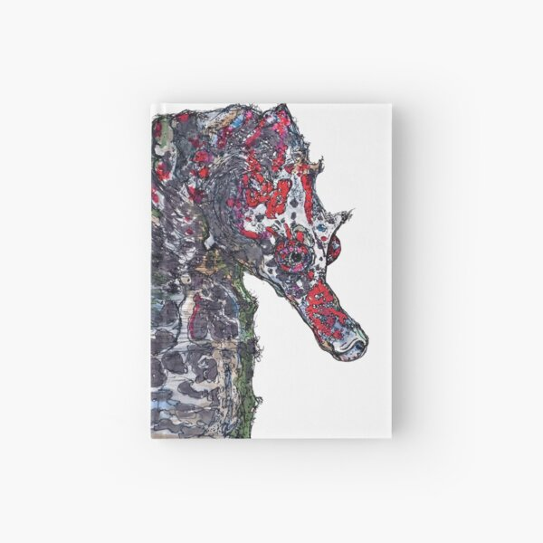 Lady Jayne Seahorse of Manly Nets Hardcover Journal