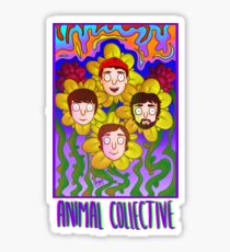 animal collective! Sticker