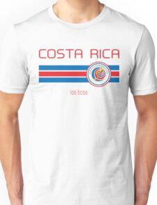 Copa America 2016 - Costa Rica (Away White) Unisex T-Shirt