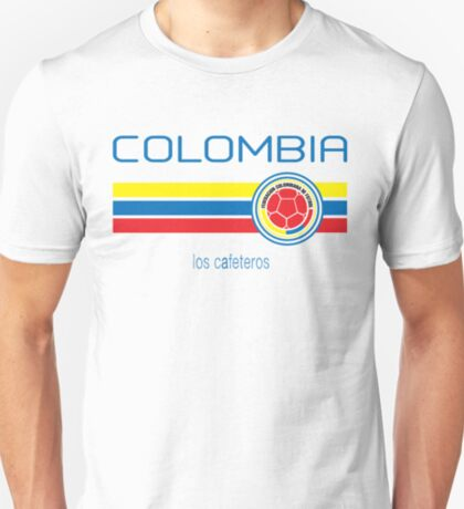 Copa America 2016 - Colombia (Home White) T-Shirt