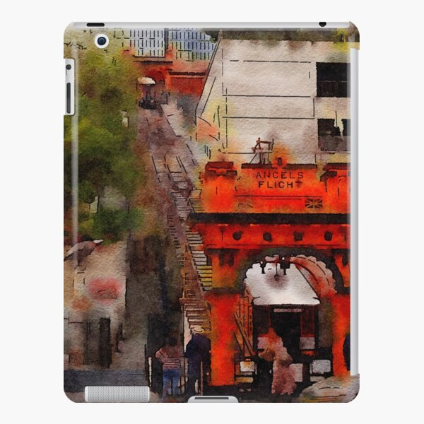 Angels Flight, Los Angeles, California Watercolor iPad Snap Case