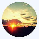 October Sunset by Kitsmumma