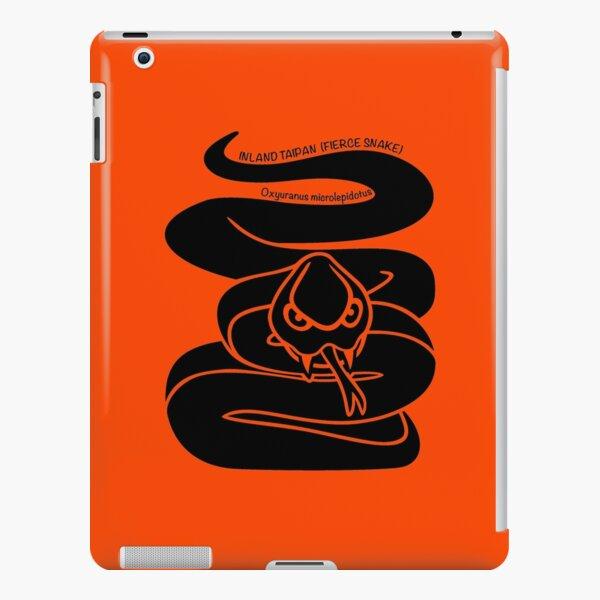 Taipan Snake. Iconic Australian Animal. Silhouette. iPad Snap Case