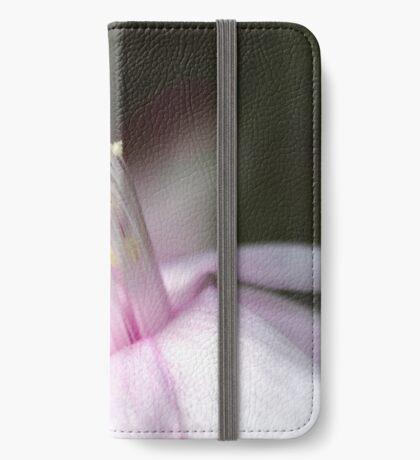 Pink Zygocactus iPhone Wallet
