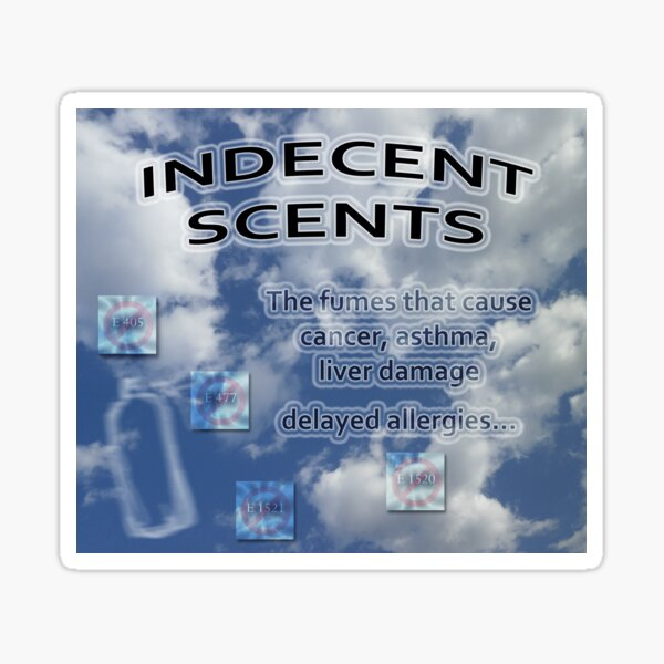 Indecent scents Sticker