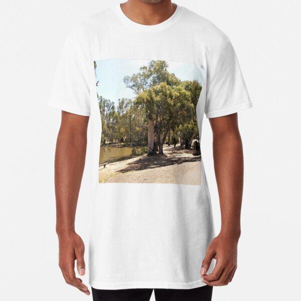 Murray River at Echuca VIC Long T-Shirt