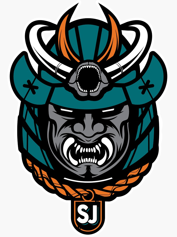 San Jose Hockey Samurai by OrganicGraphic