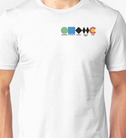 Ski Difficulties  Unisex T-Shirt