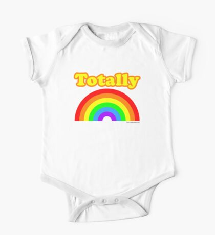 Totally Rainbow Logo Kids Clothes