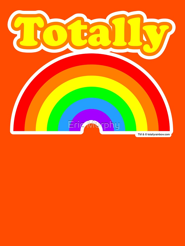 Totally Rainbow Logo by sadmachine