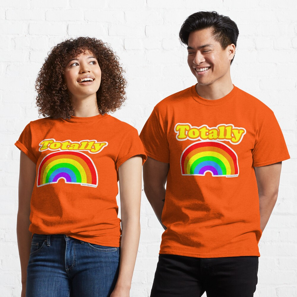 Totally Rainbow Logo Classic T-Shirt