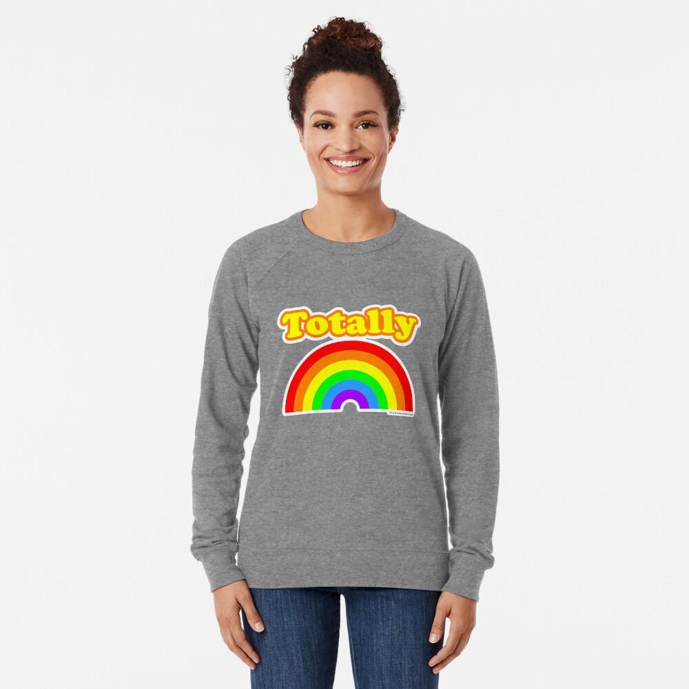Totally Rainbow Logo Lightweight Sweatshirt