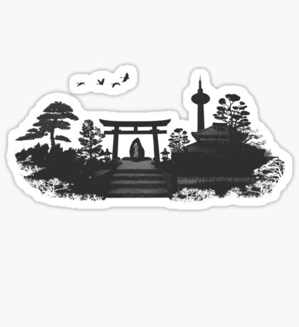 Kyoto Japan Sticker
