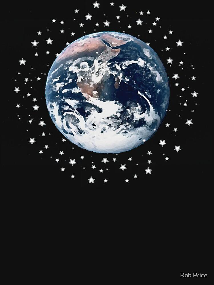 The Earth set amid innumerable stars by wanungara