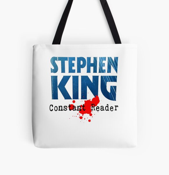 Stephen King Constant Reader Coffee Mugs-white All Over Print Tote Bag