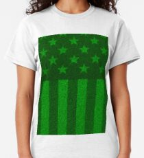 The grass and stripes Classic T-Shirt