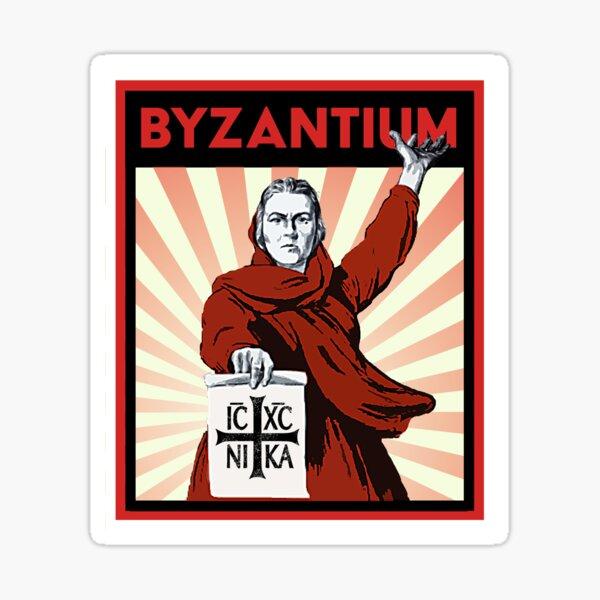 Byzantium - For Byzantium Sticker