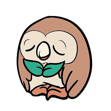 Sleepy Rowlet by GiveAlexAHand
