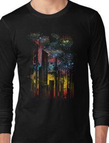 starry city lights T-Shirt