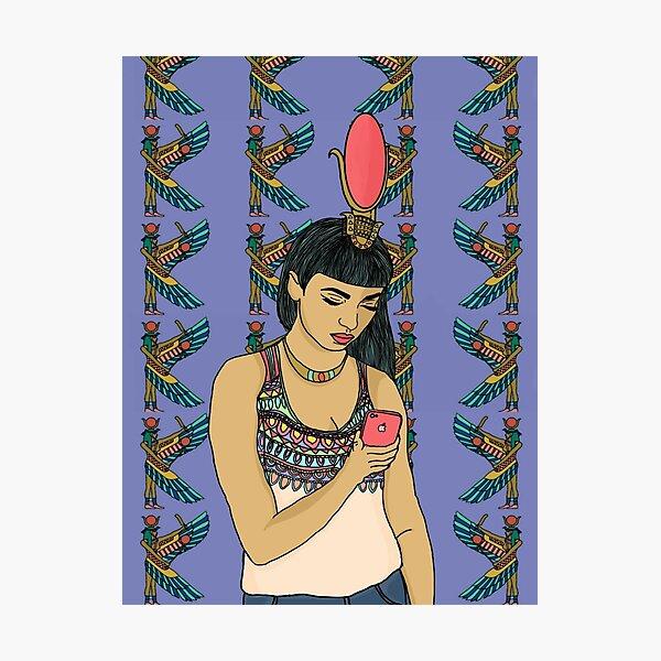 Goddess Isis Photographic Print