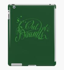 out of bounds iPad Case/Skin