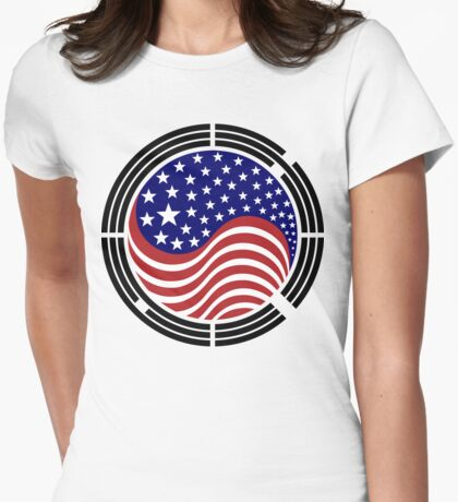 Korean American Multinational Patriot Flag Series T-Shirt