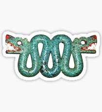 Double-headed serpent Sticker